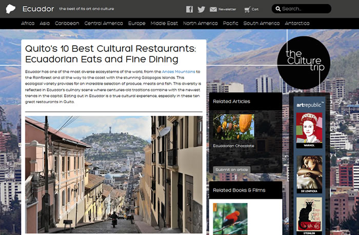 Quito's 10 Best Cultural Restaurants - The Culture Trip
